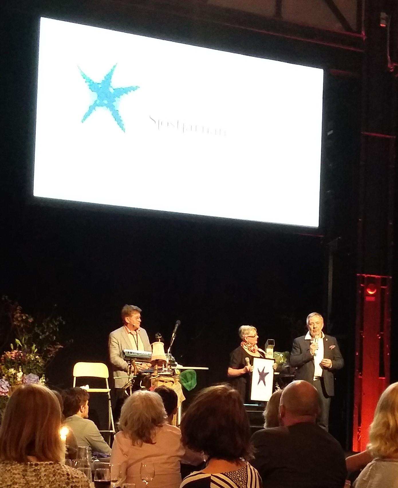 Emåförbundet tilldelas priset Sjöstjärnan på Havs- och vattenforum.