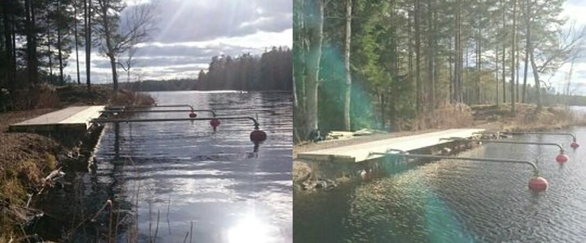2016-04-09 Ny brygga Stora Hällesjön 4